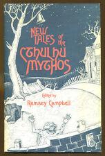New Tales of the Cthulhu Mythos-Arkham House 1st Ed./DJ-1980-Stephen King, HPL