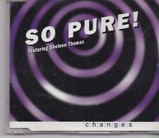 So Pure-Changes cd maxi single 8 tracks