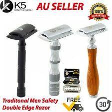 New Men Safety Razor Double Edge Blades Shaving Vintage Razors Shaver Shavette
