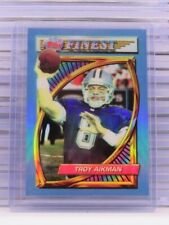 1994 Topps Finest Troy Aikman Refractor #202 Cowboys C53