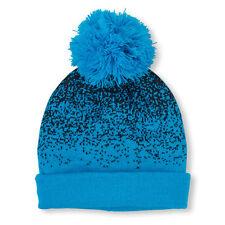 Boys Digital Dot Pom Pom Beanie HAT size L/XL (8+YR)