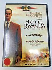 Hotel Rwanda (Dvd Widescreen) Nick Nolte, Sophie Okonedo, Don Cheadle