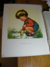 """ORG 1947 Charlot Byj """"Puttering Around"""" #918 Litho Herbert Dubler Co Archive WOW"""