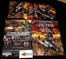AFTER THE WAR PC DVD Pal-España Español Muy Buen Estado FX Interactive