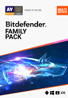 Bitdefender Family Pack 2021 -  15 Devices for 2 Years - Digital Delivery