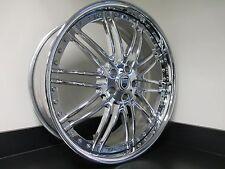 "22"" Chrome Asanti Wheels Rims 5x112 Mercedes S Class S550 S600 S63 S65 Audi A8"