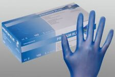 Unicare Blue Vinyl Food Safe Catering Disposable Powder Free Gloves Free P&P