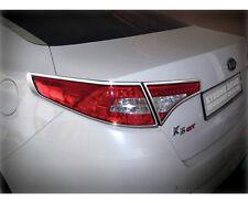 Chrome Rear Tail Light Lamp Cover Molding 4pc 1Set For 11 12 13 Kia Optima : K5