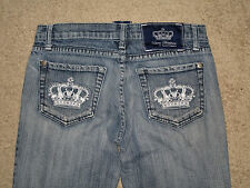 Victoria Beckham for Rock & Republic Size 27 MADRID Flare Stretch Womens Jean