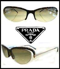PRADA SPR14C 59 OCCHIALE DA SOLE  DORATO/AVANA SCURO