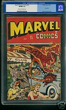 Marvel Mystery #74 CGC 9.0 Cream/Off White Pages