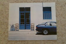 1977 Porsche 924 Coupe Showroom Advertising Sales Poster RARE!! Awesome L@@K