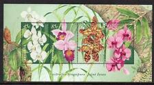 Australia MNH 1998 Orchids-Minisheet-Joint Issue With Singapore
