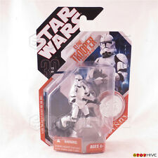 Star Wars 30th Anniversary Saga Legends Clone Trooper with silver collector coin