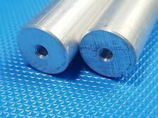 2x tubo de aluminio Ø 18x285 largo con m5 aluminio redondo material alrededor de barra incl. IVA