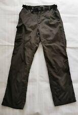 "CragHoppers Mens khaki Green Hiking Walking Pants Trousers 30"" R Solar Shield"