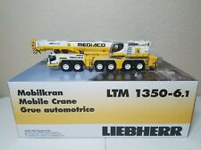 Liebherr LTM 1350-6.1 Mobile Crane (Mediaco) WSI 1:50 Scale Model #51-2006 New!