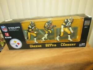 McFarlane NFL STEELERS 3 Pack Greene, Bettis, Lambert