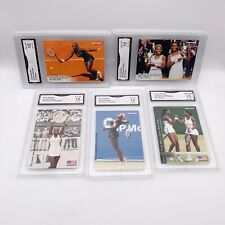 Lot of 5 - 2003 NetPro Serena Williams Rookie Lot #1 2 51 S4 GMA 10 (Not PSA)