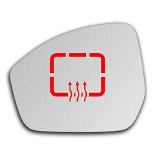 Left Side Clip On Heated Mirror Glass for Land Range Rover Velar 17-19 709LSHP