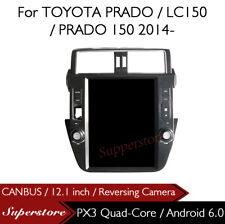 "12.1"" Tesla Style Android 6.0 Car Player Navi GPS For TOYOTA PRADO LC150 150"