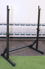 Strencor Econ Steel SQUAT RACK Adjustable Weightlifting Stand 500 lb Capacity