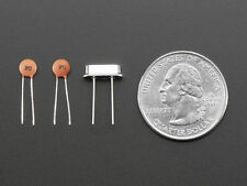 5 Pcs of 16 Mhz Crystal Oscillator, with free 10 pcs of  22PF Disk Capacitor