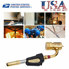 Brass Gas Ignition Turbine Torch Brazing Soldering Propane Welding Plumbing Gun