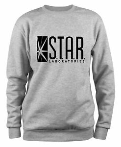 Styletex23 Sweatshirt Herren Star Laboratories Labs Logo, The Flash