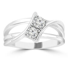 0.50 ct Ladies Round Cut Diamond Anniversary Wedding Band Ring