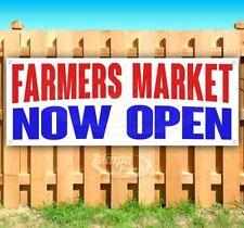 Farmers Market Now Open Advertising Vinyl Banner Flag Sign Many Sizes