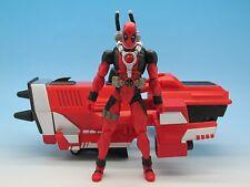 "Wolverine Origins Deadpool w/ Missile Launcher (Deluxe) 3.75"" Marvel Universe"