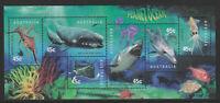 Australia 1998 : Planet Ocean - Minisheet, Mint Never Hinged