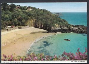 Channel Islands Postcard - Fermain Bay, Guernsey    RR4748