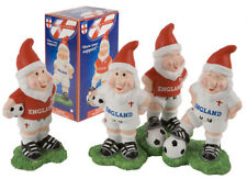 """Pack Of 2 - 6"""" England Garden Gnomes - World Cup 2018 - Garden Accessories (PM28"""