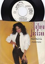 Latoya Jackson ORIG US PS Promo 45 Heart don't lie NM '84 Jackson Five R&B Dance