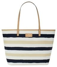 Kate Spade Bag WKRU1961 Medium Harmony Bonde Road Navy Cream Handbag Agsbeagle