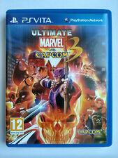 Ultimate Marvel vs. Capcom 3 PS Vita PSV UE version européenne excellent état