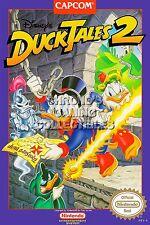RGC Huge Poster - Duck Tales 2 Original Nintendo NES BOX ART - NES020