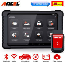 Wireless Bluetooth OBD2 Scanner&Tablet Full System Diagnostic Scan Tool TPMS SRS