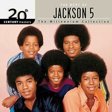 JACKSON 5 Best Of…20th Century Masters the Millennium Collection (1999 U.S. CD)