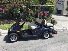 BLUE 2014 Ezgo 2five 4 passenger seat golf cart 48v street legal lsv FAST aloys