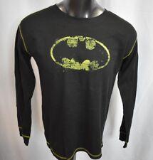 Batman Mens Thermal Distressed Print Shirt New XL