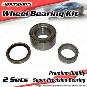 2 x Front Wheel Bearing Kit for RENAULT 12 16 1.3L 1.4L 1.6L I4 1970-1980