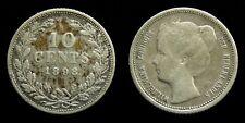 Netherlands - 10 Cent 1898