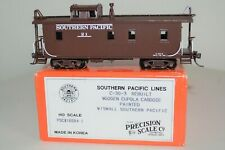 HO Brass Southern Pacific C-30-3 Wood Caboose #21 ca.1946-50's PSC 16684-1 MINT