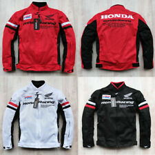 Racing Jackets Summer Automobile Race Clothing Motorcycle Clothes Honda Mesh