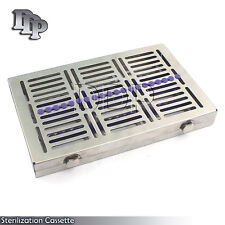 5 DENTAL SURGICAL AUTOCLAVE STERILIZATION CASSETTES FOR 20 INSTRUMENT ST-002