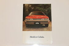 HOLDEN COMMODORE VL CALAIS SALES BROCHURE  HDT BROCK HSV