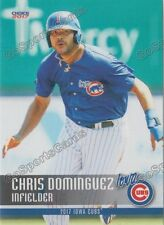 2017 Iowa Cubs Chris Dominguez RC Rookie Chicago
